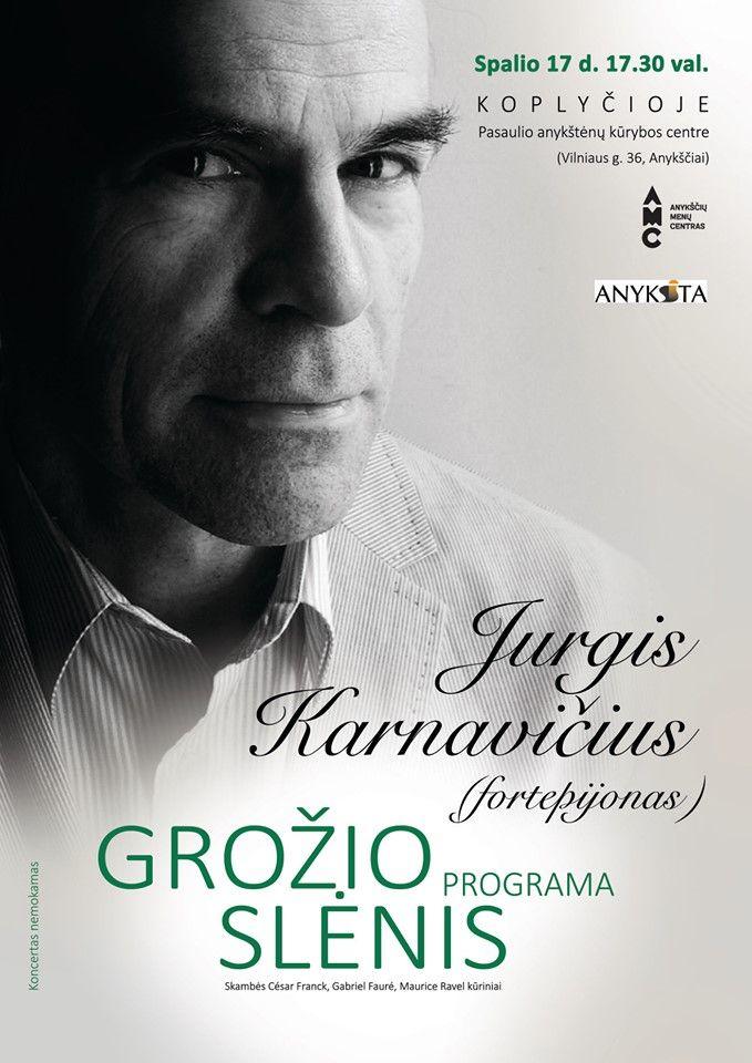 """Jurgio Karnavičiaus koncertas """"Grožio slėnis"""""""