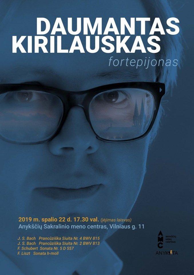 Daumanto Kirilausko (fortepijonas) koncertas