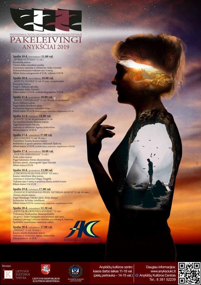 """Nacionalinės dramaturgijos festivalis """"Pakeleivingi"""" (2019) / Keistuolių teatras """"Mykolas Žvejas"""""""
