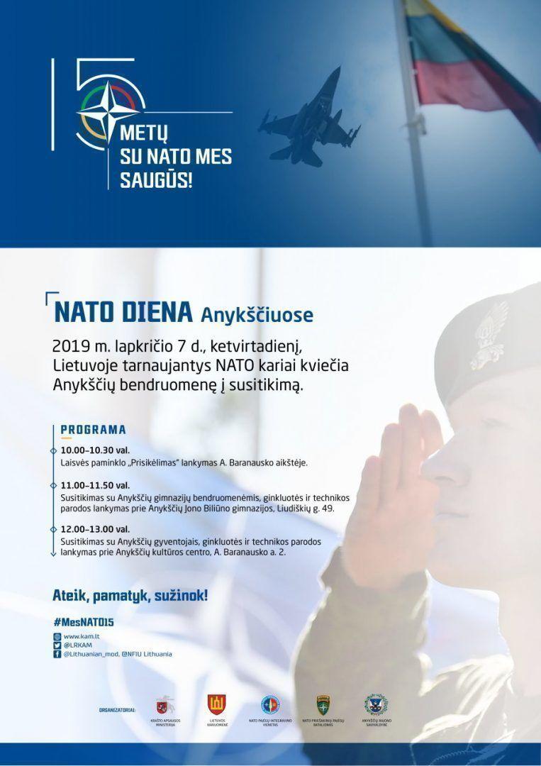 NATO diena Anykščiuose