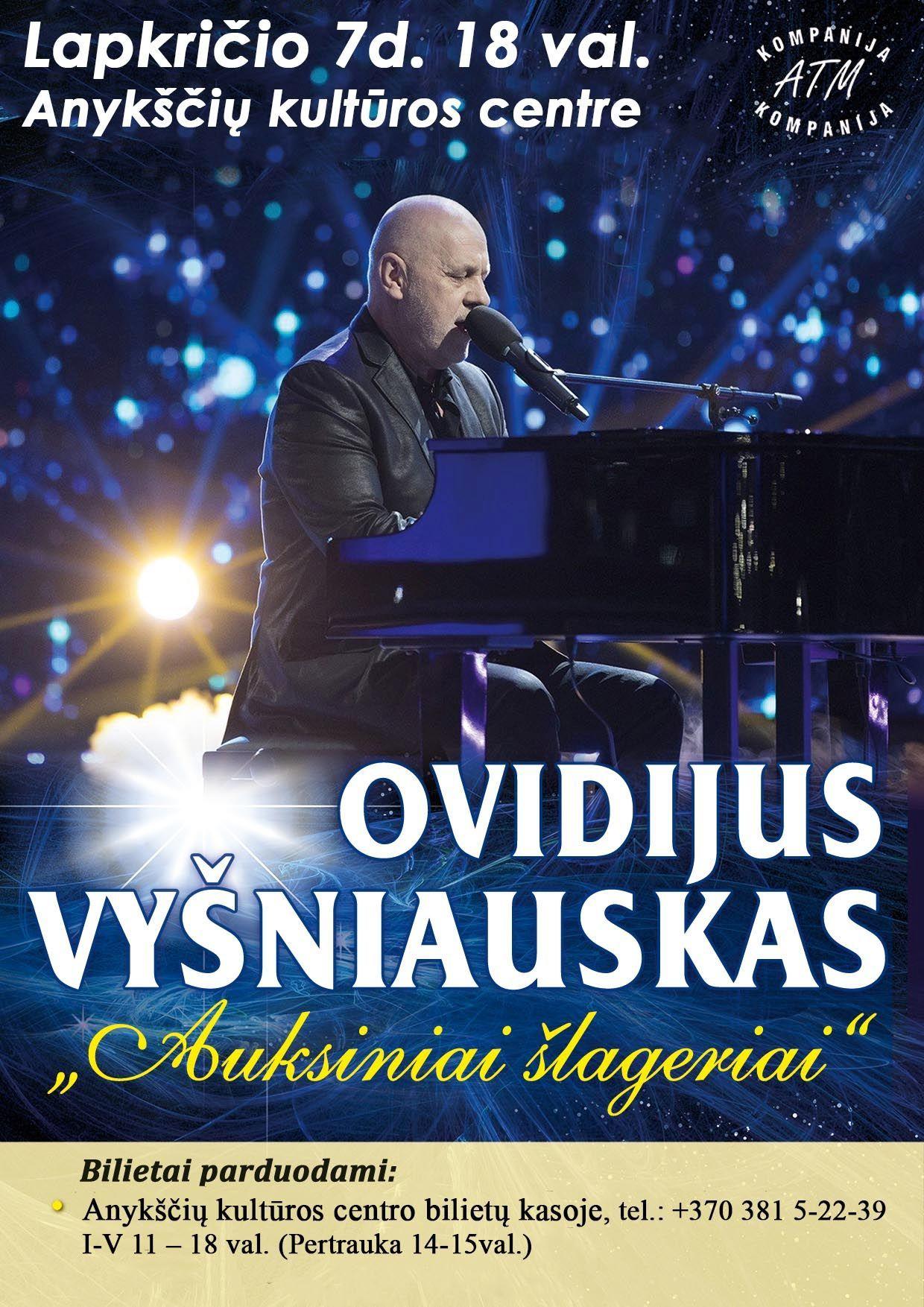 Ovidijaus Vyšniausko koncertas