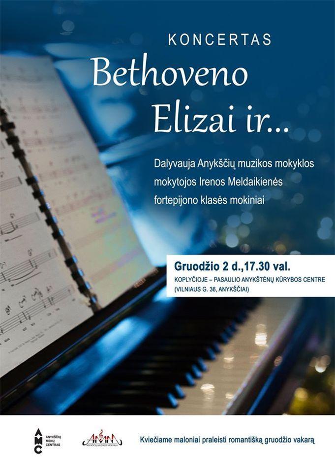 "Koncertas ,,Bethoveno Elizai ir..."""