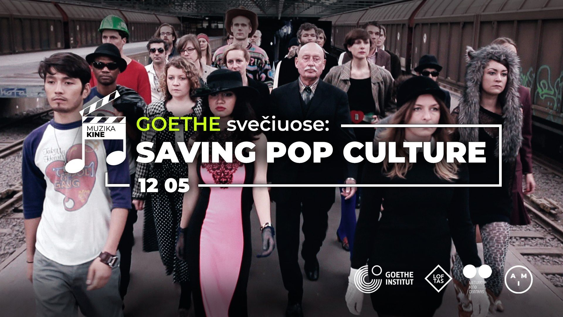 Muzika kine / Goethe svečiuose: Saving Pop Culture