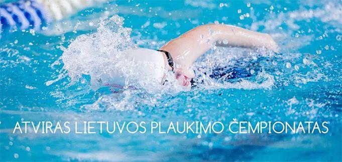 Atviras Lietuvos plaukimo čempionatas (2019) / Pirmoji diena