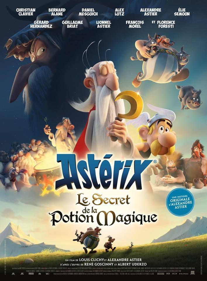"""Alexandre Astier, Louis Clichy """"ASTERIKSAS: Stebuklingojo gėrimo paslaptis"""" (2018, trukmė 1:40)"""