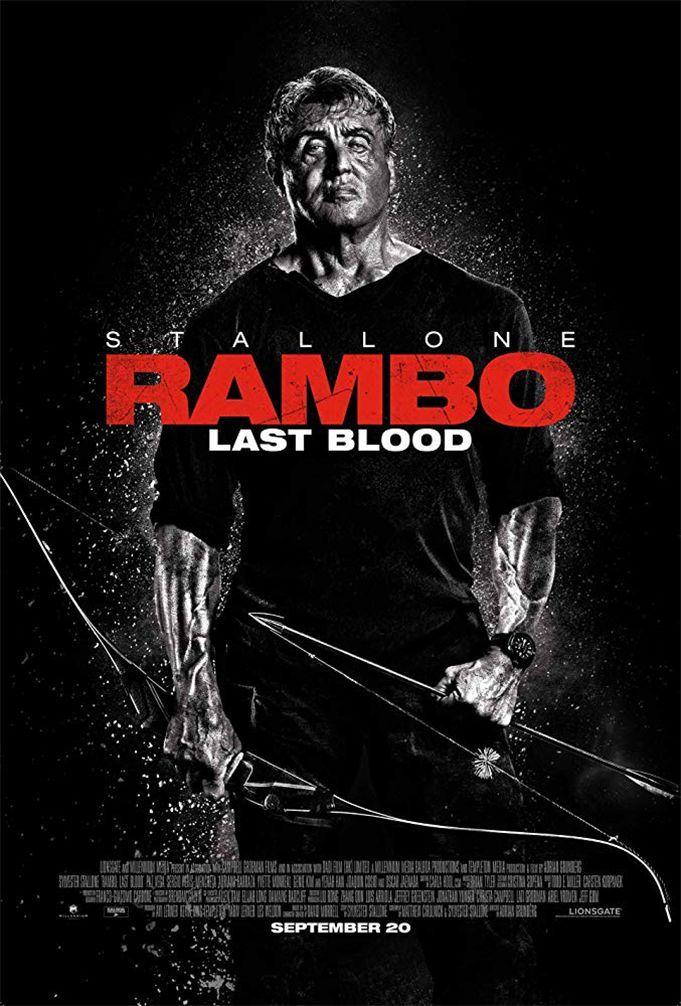 """Adrian Grunberg """"Rembo. Paskutinis kraujas"""" (2019, trukmė 1:32)"""