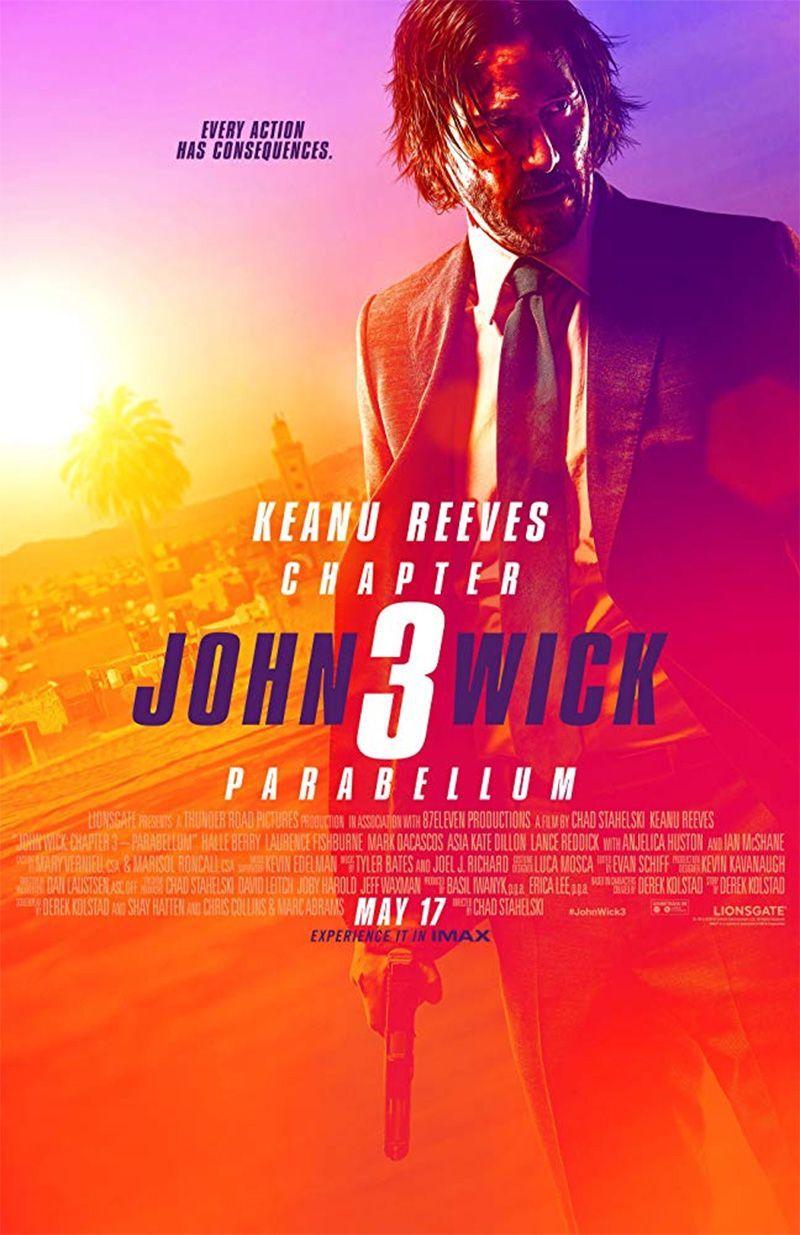 "Chad Stahelski  ""Džonas Vikas 3"" (2019, trukmė 2:00)"