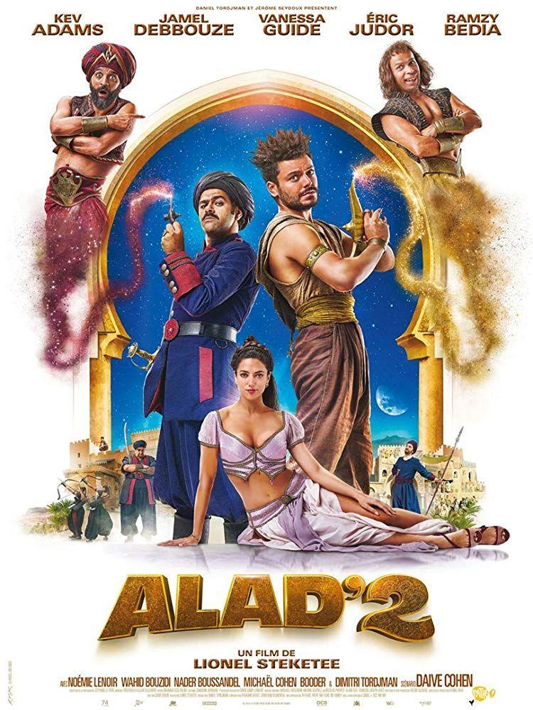"""Lionel Steketee """"Naujieji Aladino nuotykiai 2"""" (2018, trukmė 1:40)"""