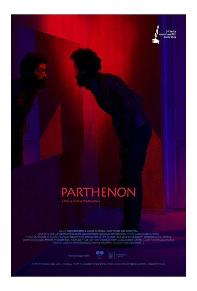 """Mantas Kvedaravičius """"Partenonas"""" (2019, trukmė 1:59)"""