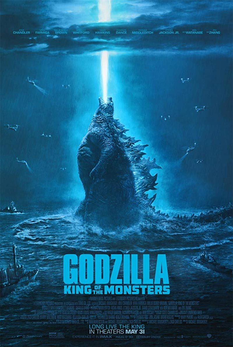 "Michael Dougherty ""Godzila 2: Monstrų Karalius"" (2019, trukmė 2:00)"