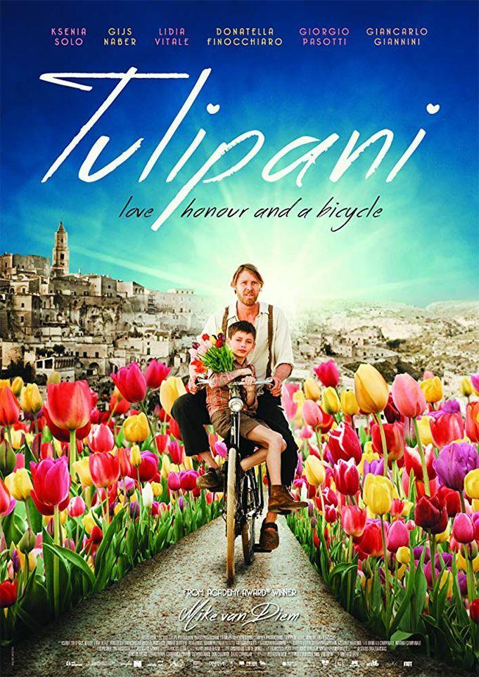"""Mike Van Diem """"Tulpės, meilė, garbė ir dviratis"""" (2017, trukmė 1:30)"""
