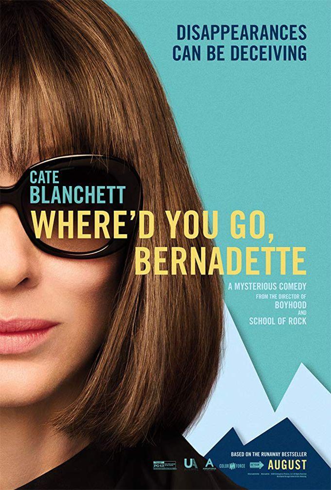 "Richard Linklater ""Kur tu pradingai, Bernadeta?"" (2019, trukmė 1:44)"