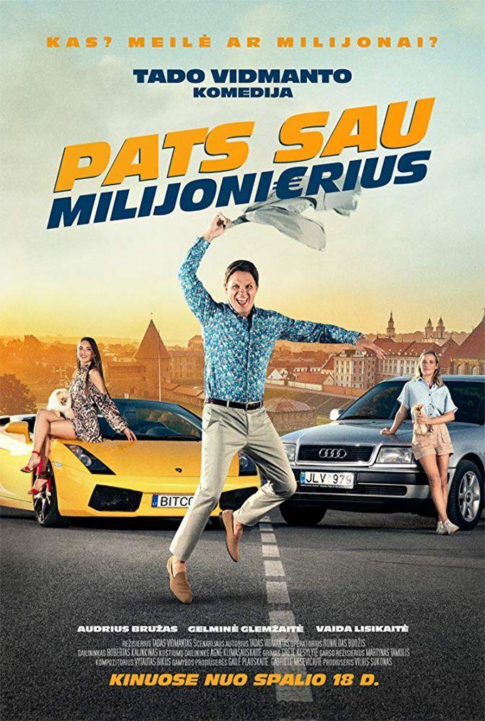 """Tadas Vidmantas """"Pats sau milijonierius"""" (2019, trukmė 1:30)"""