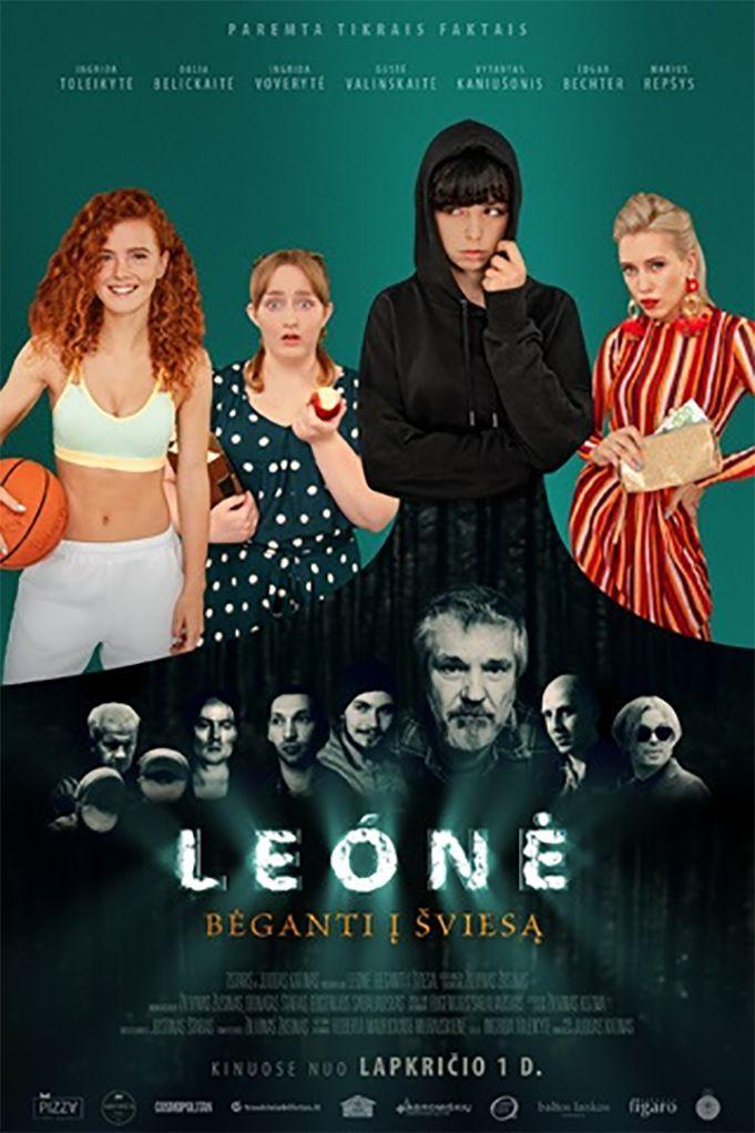 """Žilvinas Žusinas """"Leónė. Bėganti į šviesą"""" (2019, trukmė 2:05)"""
