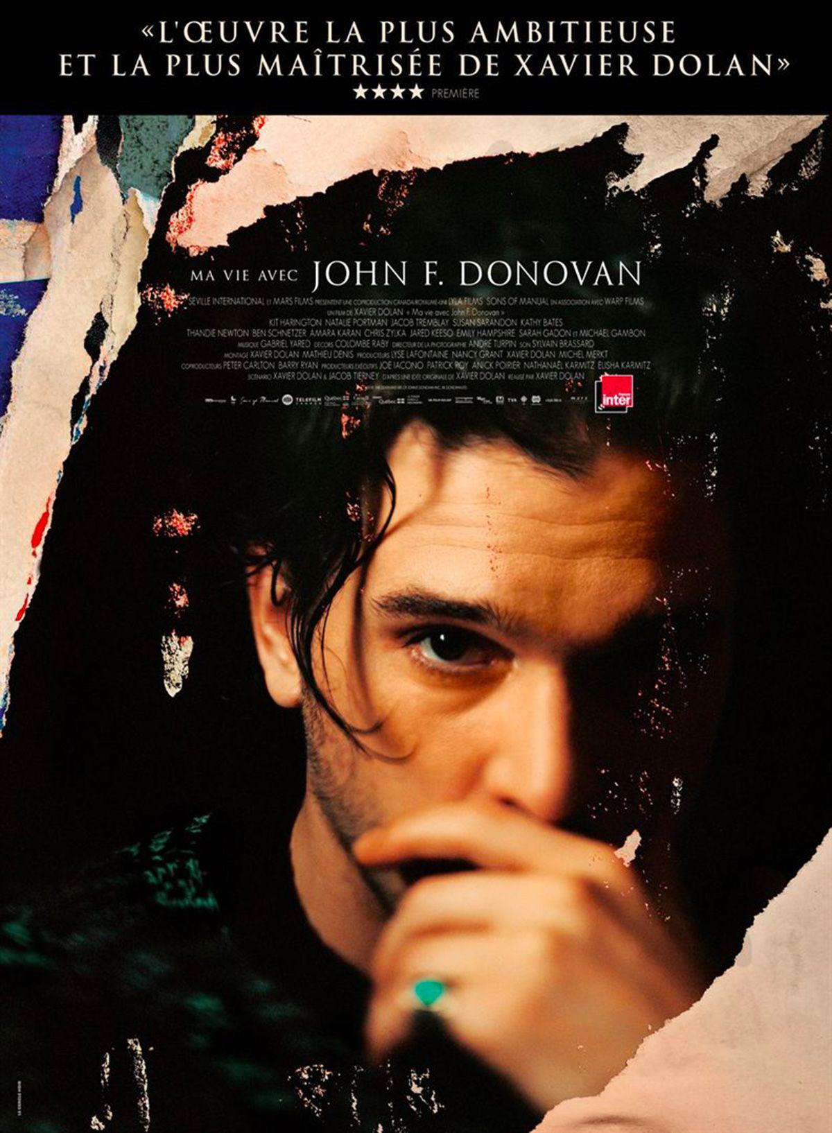 """Xavier Dolan """"Džono F. Donovano mirtis ir gyvenimas"""" (2019, trukmė 2:03)"""