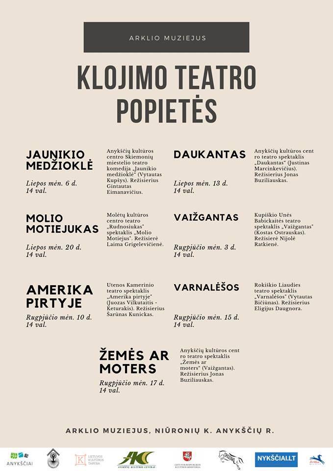 """Klojimo teatro popietės / Spektaklis """"Molio Motiejukas"""""""