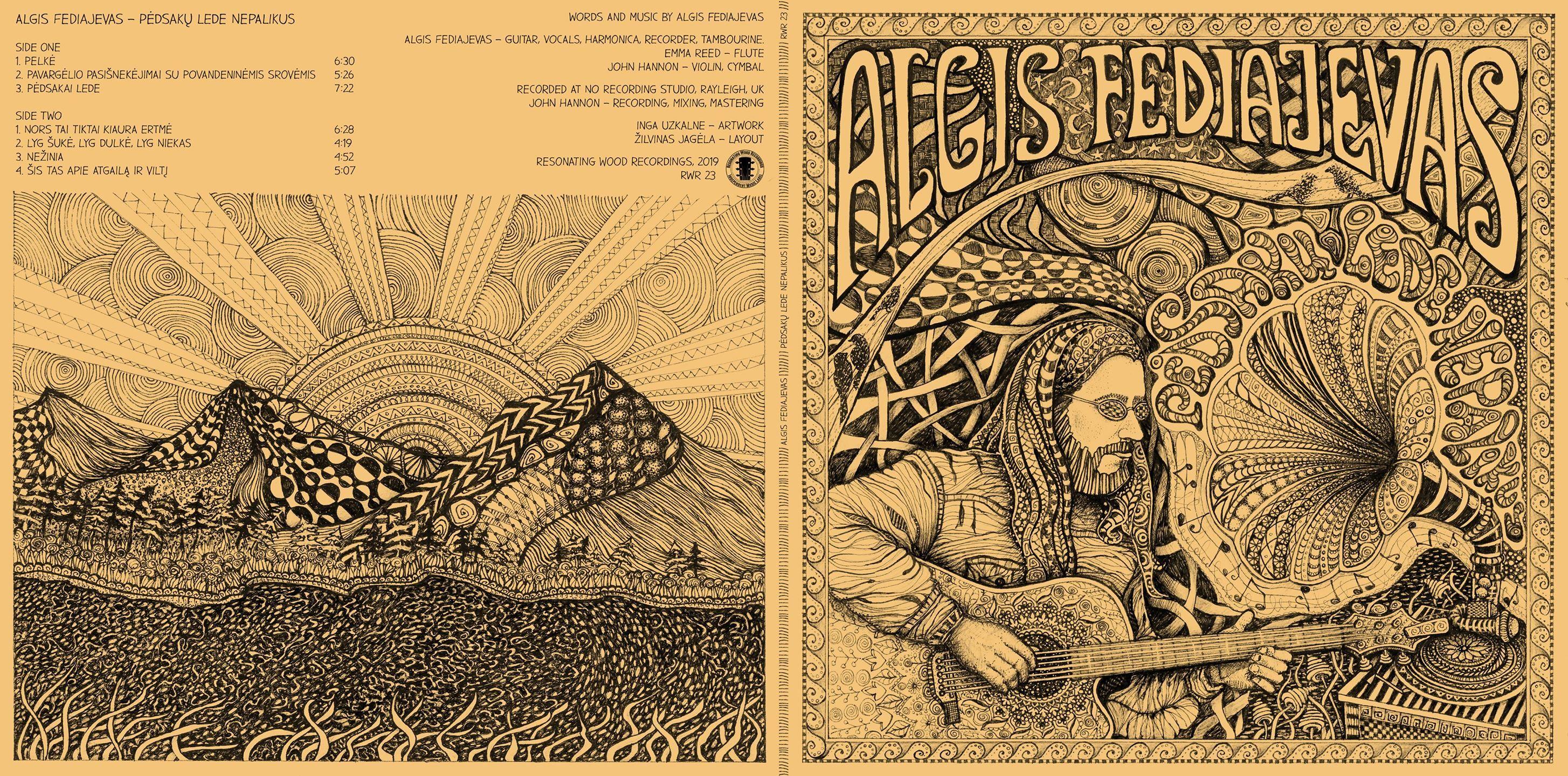 Algio Fediajevo naujo albumo pristatymas Anykščiuose