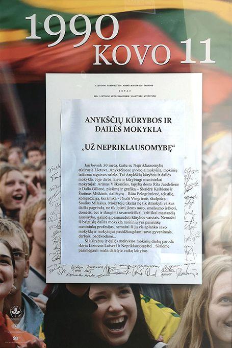 Lietuvos nepriklausomybės atkūrimo diena Anykščiuose (2020) / Paroda