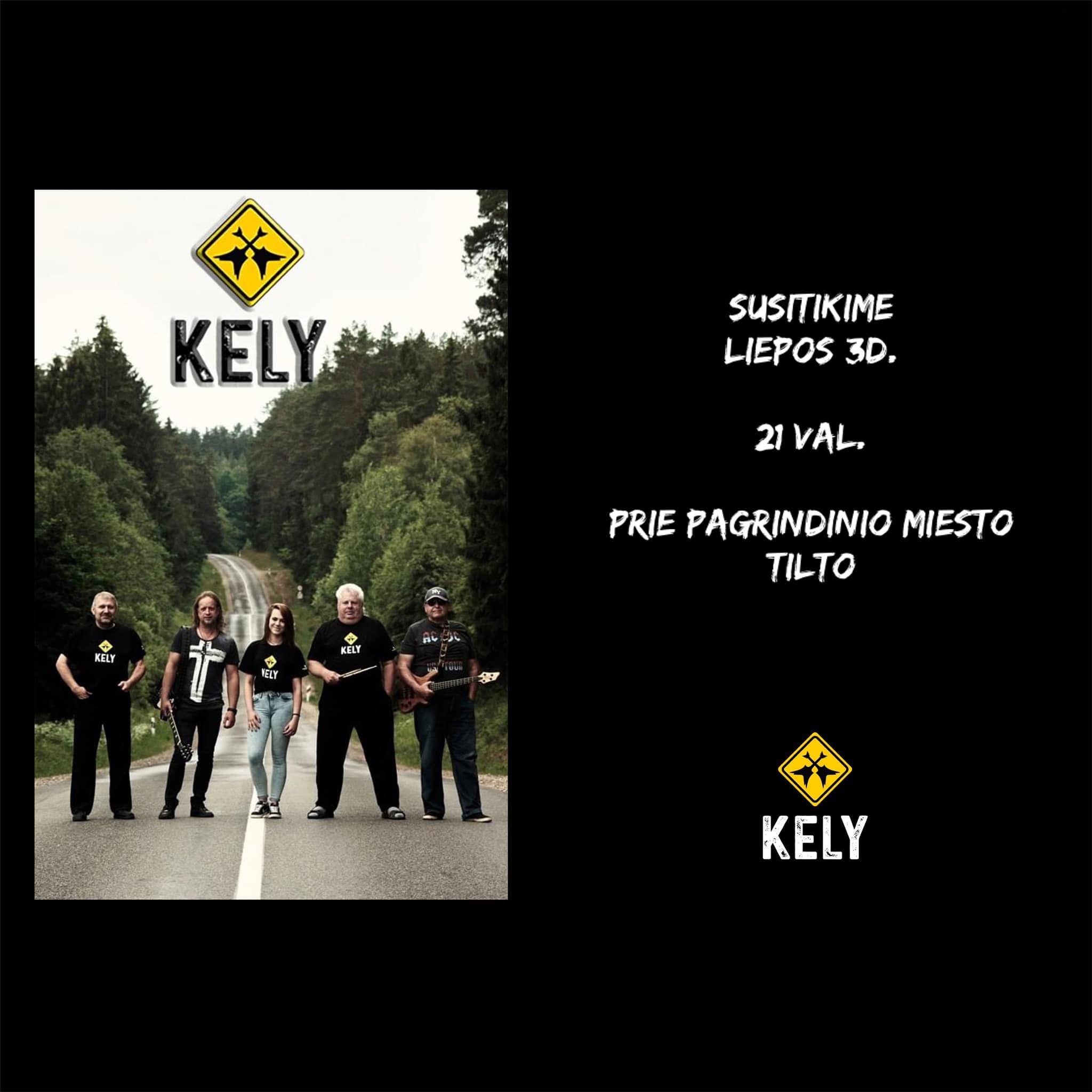 """Anykštėnų grupės """"Kely"""" koncertas prie upės!"""