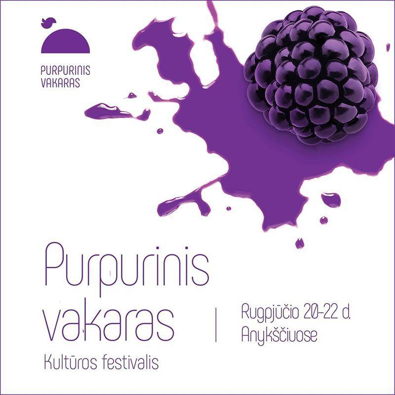 """Festivalis """"Purpurinis vakaras"""" (2020) / Deimantės Rybakovienės iliustracijų parodos ,,Balti laukai"""" atidarymas"""