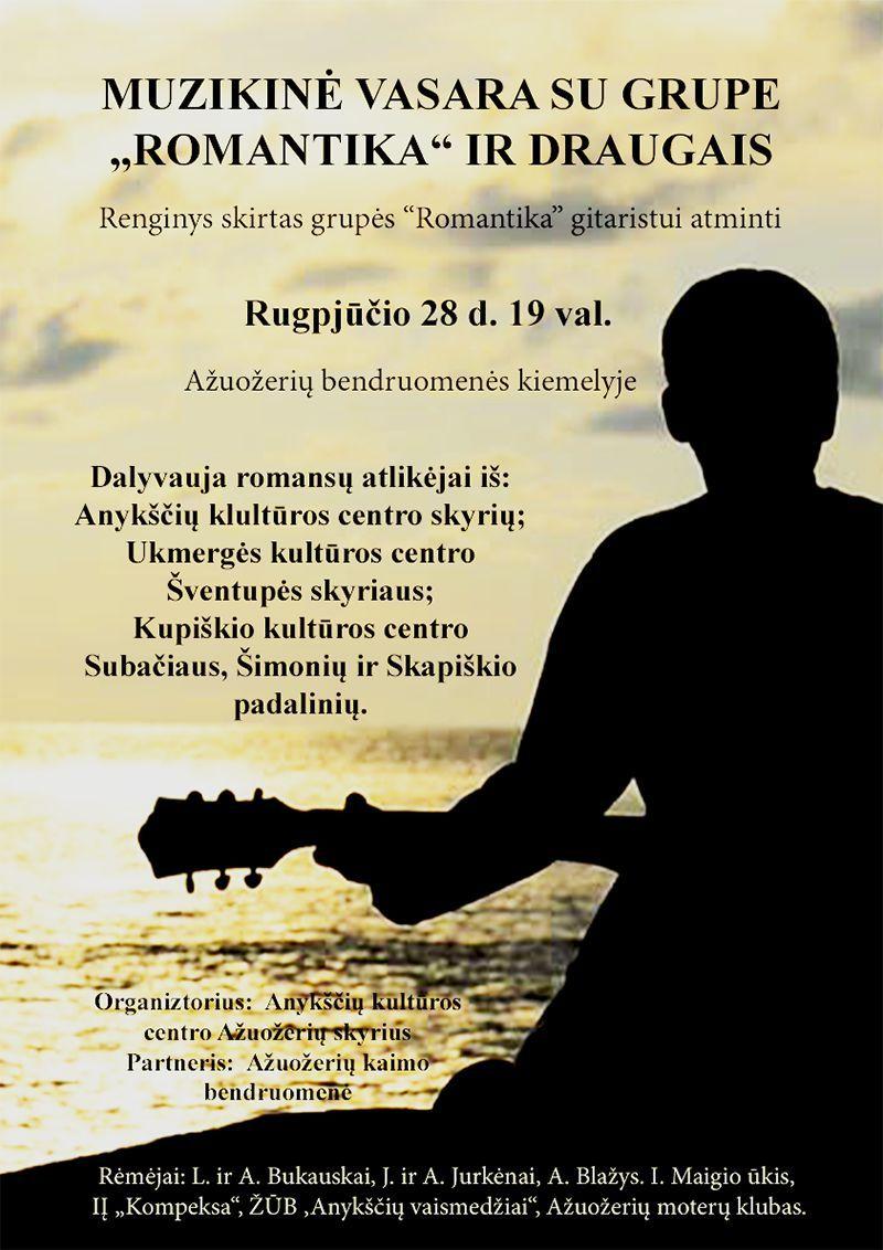 """Muzikinė vasara su grupe """"Romantika"""" ir draugais"""