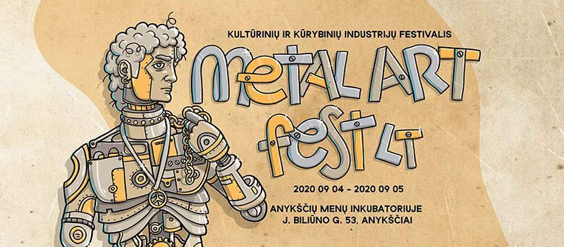 "Tradicinis festivalis ""METAL ART FEST LT"" (2020)  / Pirmoji diena"