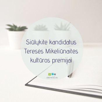 T. Mikeliūnaitės kultūros premija