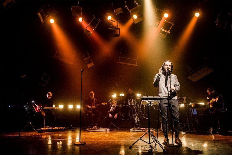 """Teatrų festivalis """"Pakeleivingi"""" (2020) / Menų spaustuvės spektaklis – koncertas """"Neišmoktos pamokos"""""""