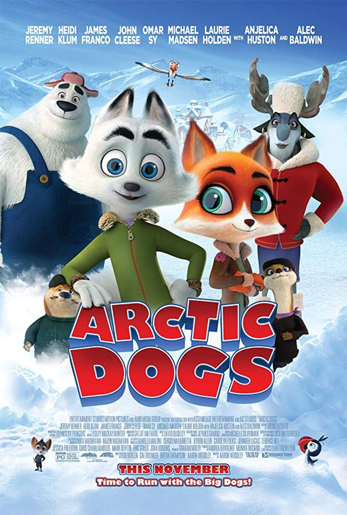 "Aaron Woodley ""Arkties komanda"" (2020, trukmė 1:51)"