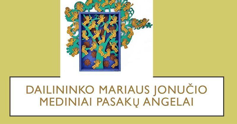 """Virtuali dailės pamoka """"Pasakų angelai"""" pagal Mariaus Jonučio kūrybą  / Su grafike Inga Dargužyte"""