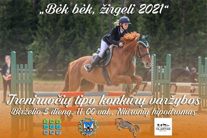 """42-oji Respublikinė tradicinės kultūros ir žirgų sporto šventė """"Bėk bėk, žirgeli!"""" (2021)"""