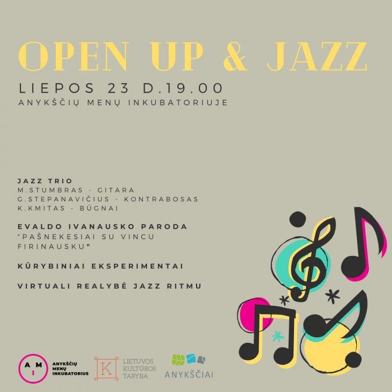 """Ansamblio """"Jazz Trio"""" pasyrodimas"""