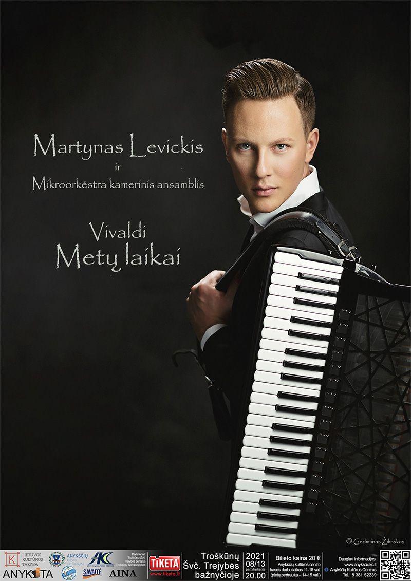 """Festivalis """"Troškimai"""" (2021) /Martynas Levickis ir Mikroorkestra kamerinis ansamblis. Vivaldi """"Metų laikai"""""""