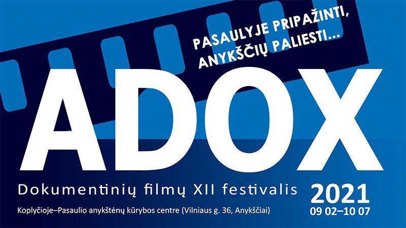 """Dokumentinų filmų XII festivalis """"Adox"""" / Fotografijų parodos """"Nuostabieji lūzeriai. Fosilijos"""" atidarymas"""