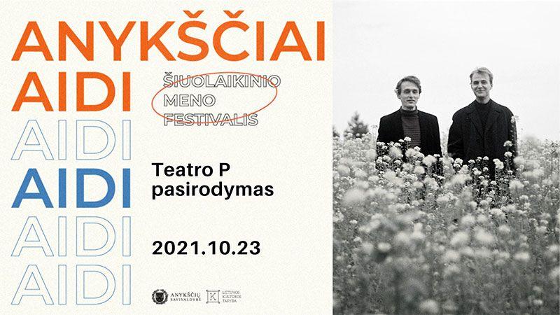 """""""Teatro P"""" pasirodymas"""