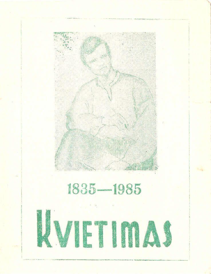 Antano Baranausko 150-ųjų gimimo metinių iškilmingas minėjimas