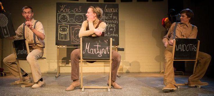 """Nacionalinės dramaturgijos festivalis """"Pakeleivingi″ (2014) - Vaidotas Žitkus """"Kai aš mažas buvau"""""""