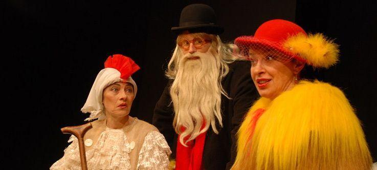 """Nacionalinės dramaturgijos festivalis """"Pakeleivingi″ (2014) - Spektaklis vaikams """"Lapė ir višta"""""""