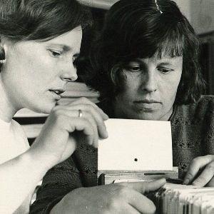 Kraštotyrininkės. 1970 m.