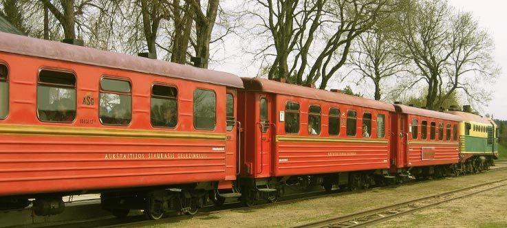 Aukštaitijos siaurasis geležinkelis / Siauruko muziejus
