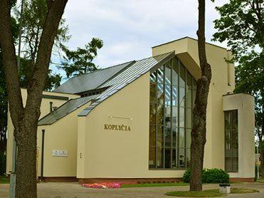 Anykščių koplyčia / Pasaulio anykštėnų kūrybos centras