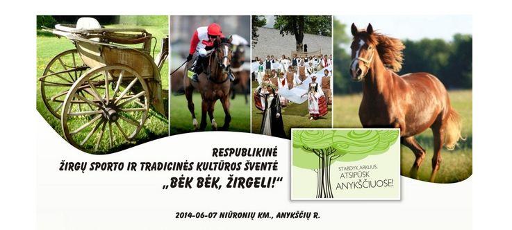 """35-oji Respublikinė tradicinės kultūros ir žirgų sporto šventė """"Bėk bėk, žirgeli!"""" (2014)"""