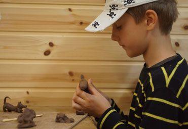 Arklio muziejaus edukacinės programos / Prakalbintas molis