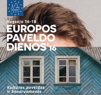 Europos paveldo dienos 2016