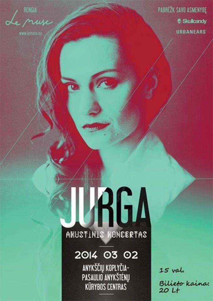 JURGA - Akustinis koncertas