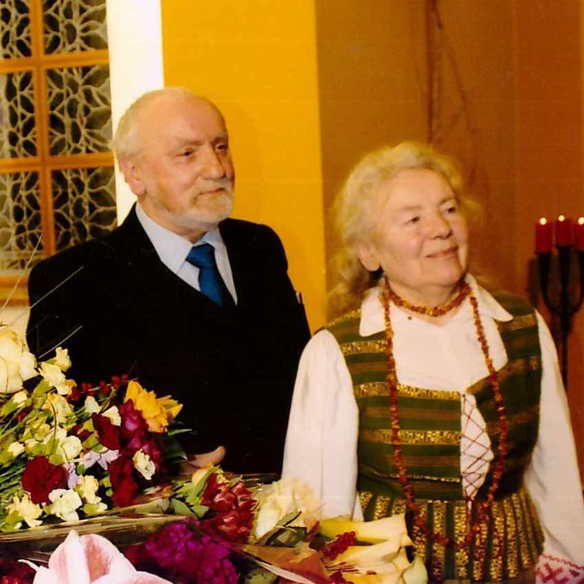 V. Račkaitis ir M.Telksnytė