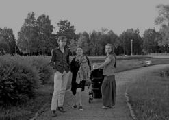 Renginio svečiai miesto parke