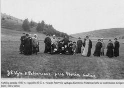 Kazimieras Paltarokas su kunigais