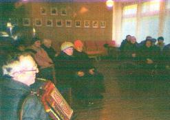 Akordeonu groja Stanislovas Svirskas