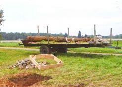 Statome kaimo kryžių - Naujųjų Elmininkų kaimo bendruomenė